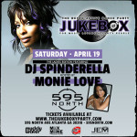 4/19: Jukebox:: The Ladies of Hip-Hop edition w/ Spinderella & Monie Love