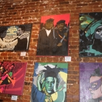 Invest in Gold Art Show featuring Goldi Gold at City of Ink