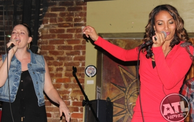 Angelina Sherie rocks Apache Cafe at the Bar Exam