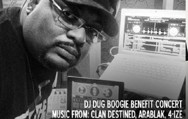 DJ Dug Boogie benefit concert