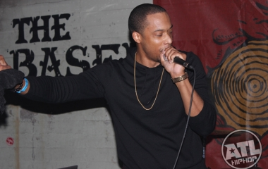 Black Milk rocking the stage at The Basement in East Atlanta