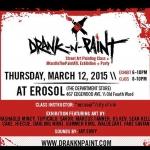 3/12 Drank N Paint at Erosol