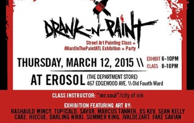 Drank N Paint at Erosol