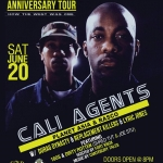 6/20 Cali Agents w/ Dirty Rotten, Lyric Jones at The Loft