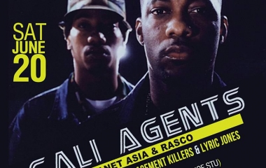 6/20 Cali Agents 15yr anniversary tour at The Loft