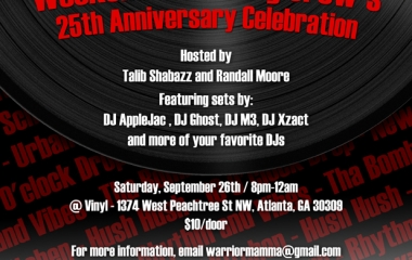 9/26 Weekend Wrecking Crew 25th Anniversary