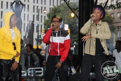 Atlanta Hip Hop Day 2015 at Woodruff Park