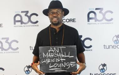Lyricist Lounge creator Ant Marshall