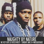 1/31 Naughty By Nature @ The Masquerade w/ Key Boy & Rock Most
