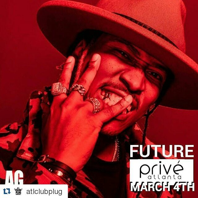 Future club prive march 4th music for Dekalb tattoo company