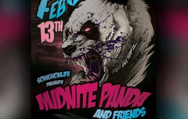 2/13 Midnight Panda and Friends at The Graveyard