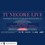 Tunecore Live Wednesday  March 2nd @ The Music Room