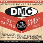 4/7 DMC regional DJ battle 2016 at The Music Room