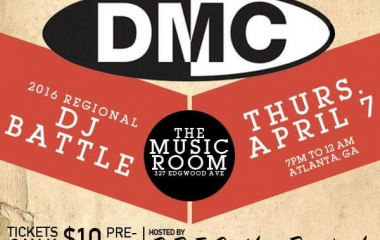 4/7 DMC DJ battle at The Music Room