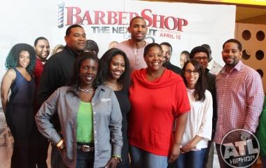 Al Horford of the Atlanta Hawks at Pre-screening of Barbershop: The Next Cut in Atlanta