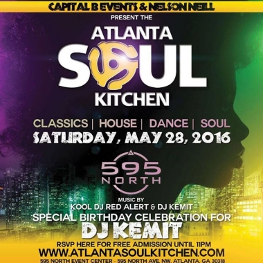5/28 Atlanta Soul Kitchen at 595 North