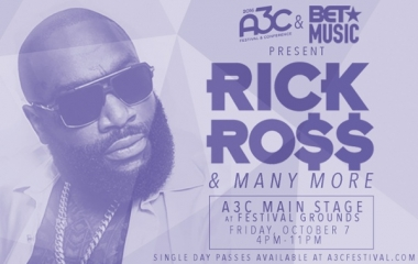 Rick Ross added to A3C lineup