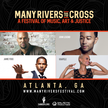 Many Rivers to Cross festival Oct 1-2 in Atlanta