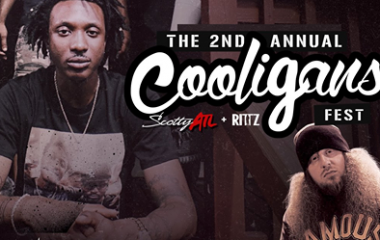 9/22 The 2nd Annual Cooligans Festival w/ Scotty ATL and Rittz
