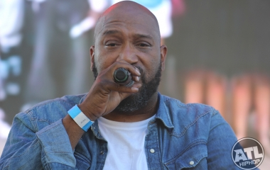 Bun B performing at A3C 2016 in Atlanta, Ga
