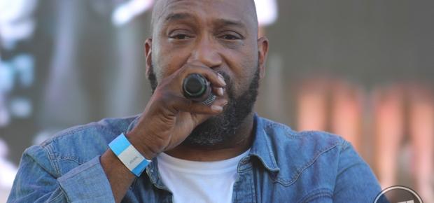 Bun B performing at A3C 2016 in Atlanta, Ga