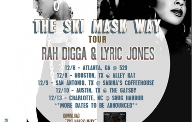 12/6 The Ski Mask Way Tour with Rah Digga and Lyric Jones at 529