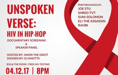 4/12 The Unspoken Verse Screening and Concert