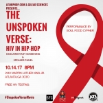 The Unspoken Verse Screening and Panel w/ Soul Food Cypher